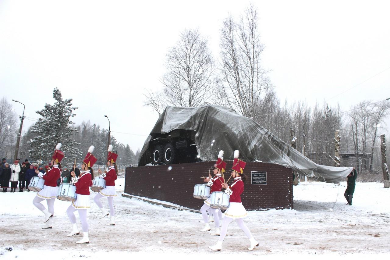 Открытие мемориального комплекса на «На страже мира»